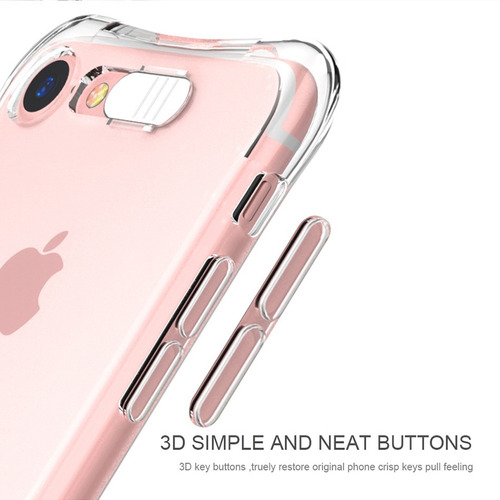 silicone case estuche de luz led para iphone 6/6s/7/7plus