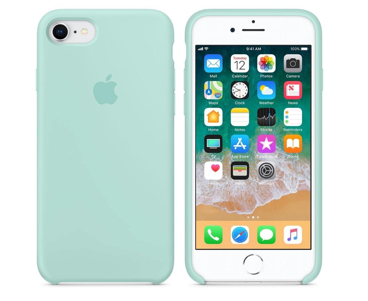 288bad4fc74 silicone case estuche original iphone 6, 6s, 7, 8 plus apple. Cargando zoom.
