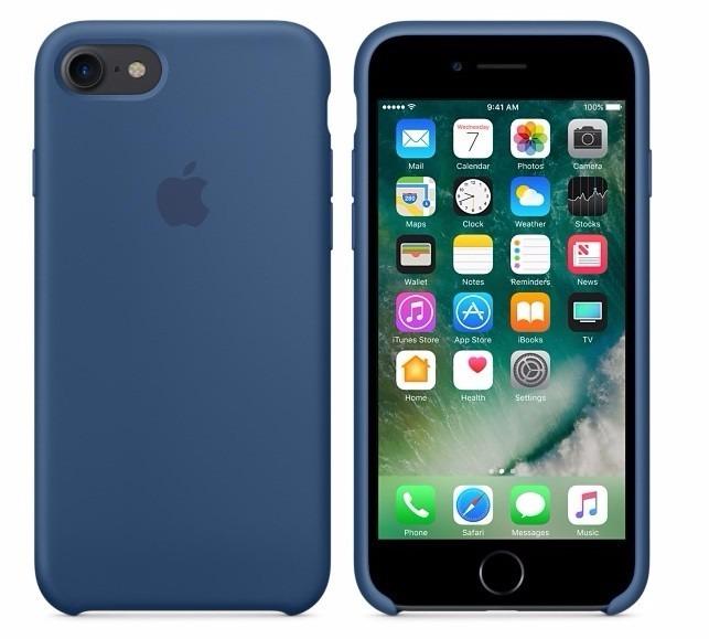 b425af14b31 Silicone Case Estuche Original iPhone 6 Plus Colores Varios - $ 25.199 en  Mercado Libre
