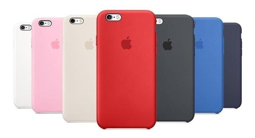 sale retailer 77968 e8ff1 Silicone Case iPhone 5s, Se, 6, 6s, 7, 8, Plus Apple