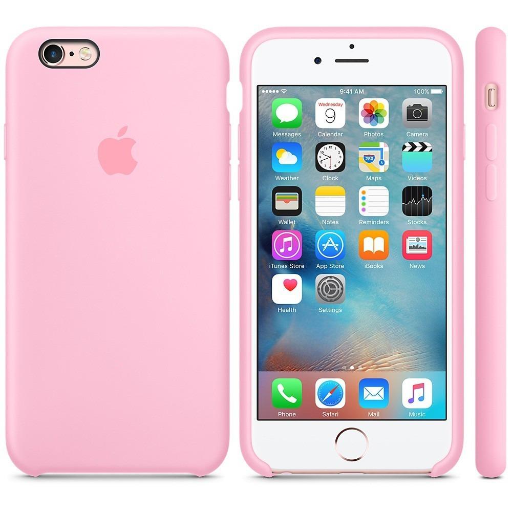 20d4d6d1396 Silicone Case iPhone 6/6s Plus - $ 21.900 en Mercado Libre