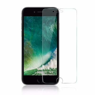 silicone case iphone 7 / iphone 7 plus + mica de vidrio