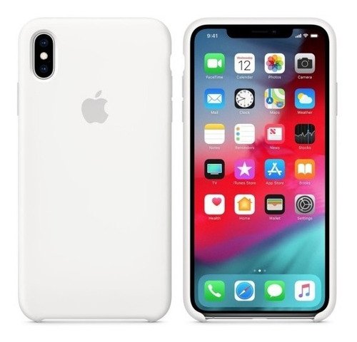 silicone case iphone x, xs, xr, xs max apple / tienda