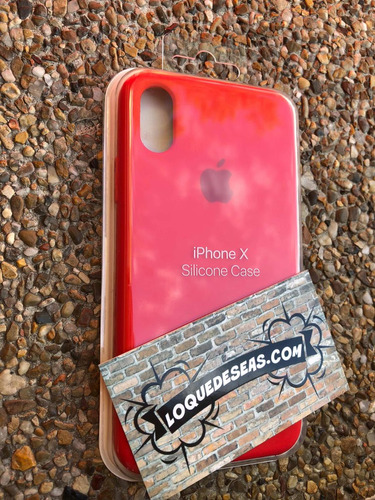 silicone case  iphone x, xs y xmax