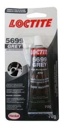 silicone cola adesivo junta motor alt temp loctite grey 5699