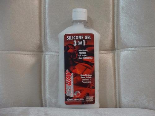 silicone em gel 3 em 1 nswax