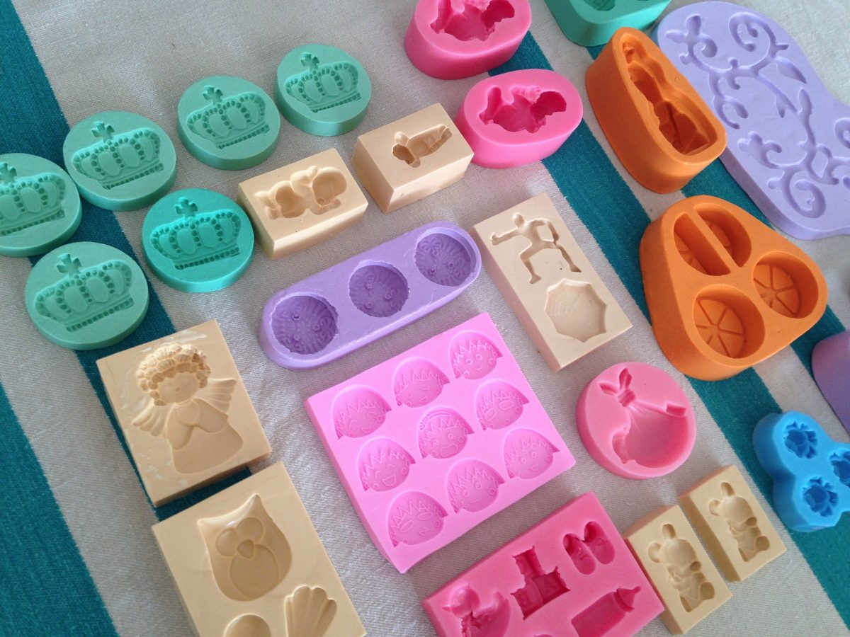 4691a5d4b Carregando zoom... forma molde silicone sabonete super pacote 27 formas
