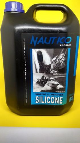 silicone liquido náutico 5l e para esteira sem solvente