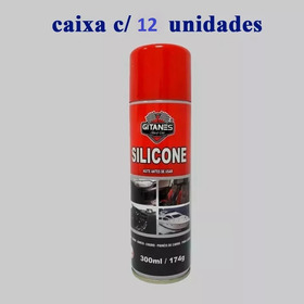 Silicone Spray Gitanes 300ml Lavanda Cx 12 Unidades