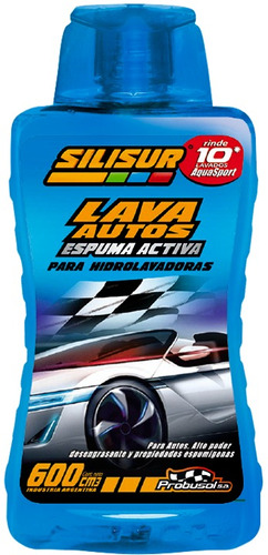 silisur lava autos espuma activa hidrolavadora 600cc pack12u