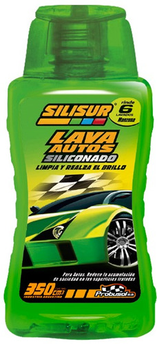 silisur lava autos siliconado manzana 350cc pack 12u