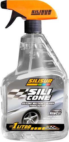 silisur silicona multiuso liquida perfumada gatillo 1l autos