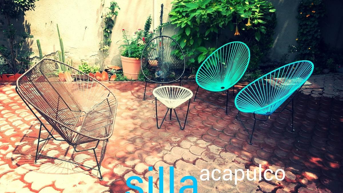 Silla acapulco condesa en mercado libre for Silla acapulco