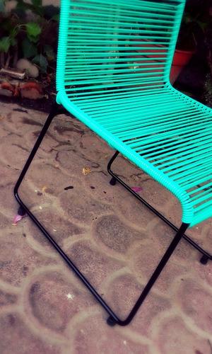 silla acapulco, diseño silla comedor mérida.entregadomicilio