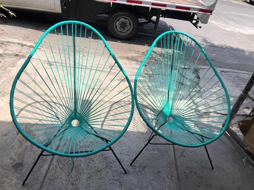 silla acapulco ikal (2 piezas) , envío gratis