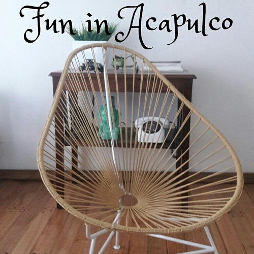 silla acapulco reparacion pvc y soga