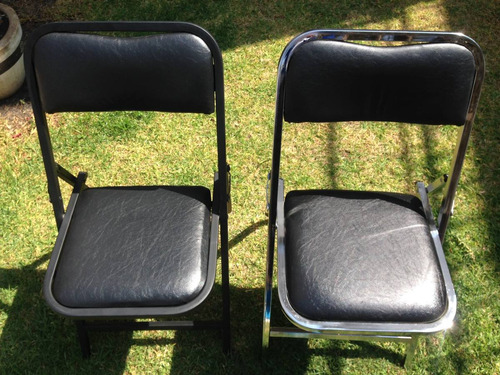 silla acojinada cromada plegable salones alquiladoras msi