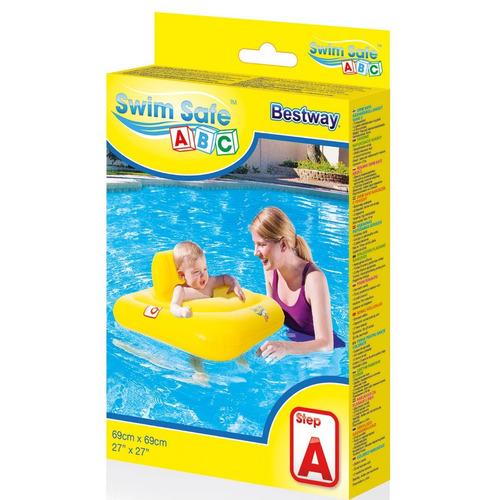silla acuatica baby support 69x69cm bestway (6625)