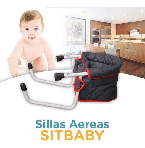 silla aerea sitbaby bebes portatil plegable. la original!