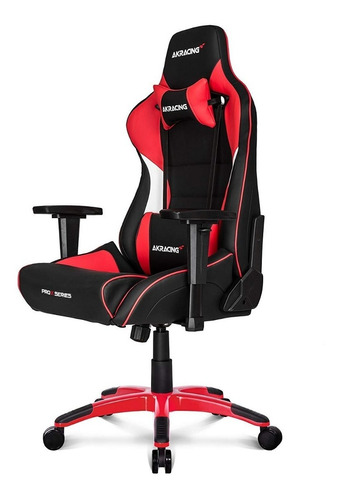 silla ak-racing prox series gamer rojo