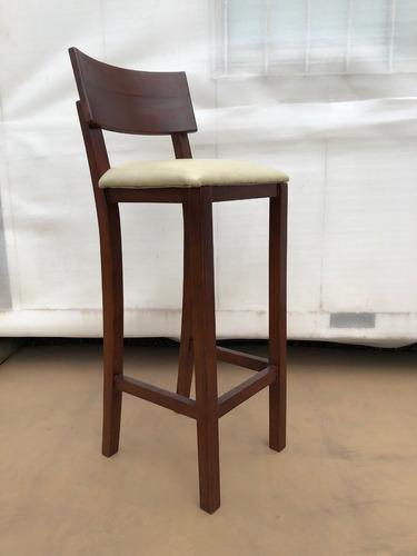 silla alta, butaca bar madera. mueble usado en buen estado.