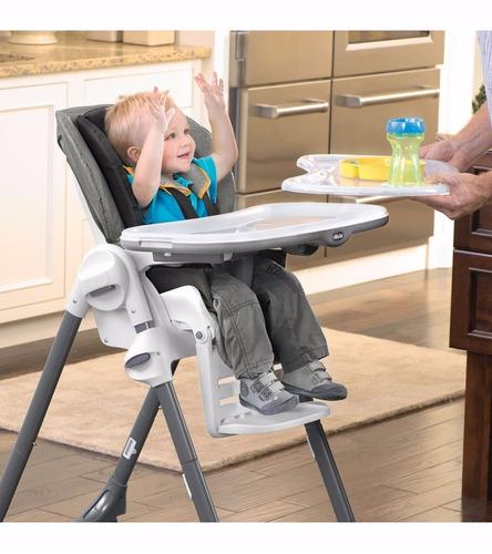 silla alta de comer chicco reclinable ajustable plegable