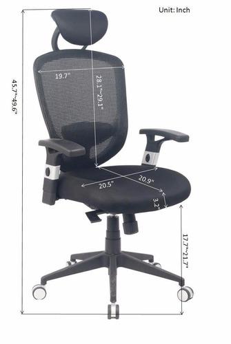 silla alta de oficina  ergonómica +envio gratis