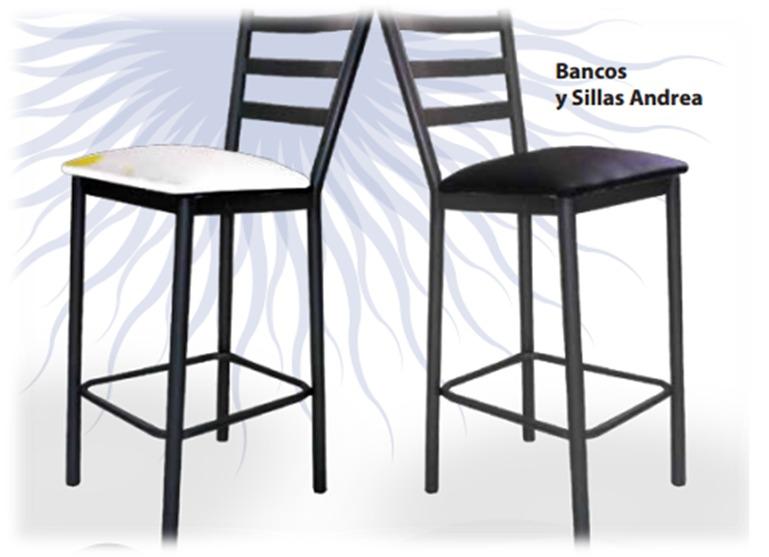 Silla alta para barra pantry de cocina banco en metal for Sillas altas para barra