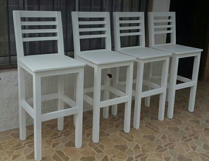 silla alta para desayunador o barra en On sillas para desayunador