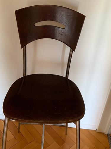 silla alta tipo bar