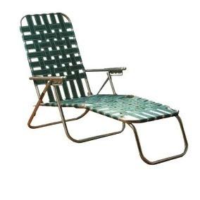 silla aluminio extension cama reclinable playa original
