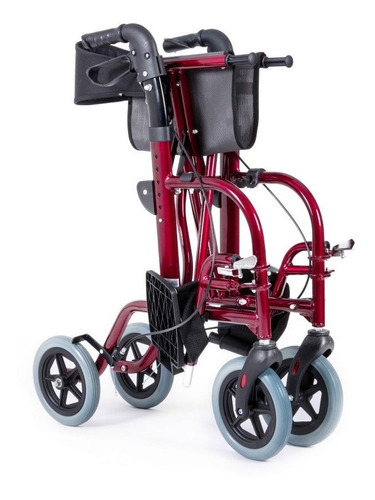 silla andadera híbrida de aluminio