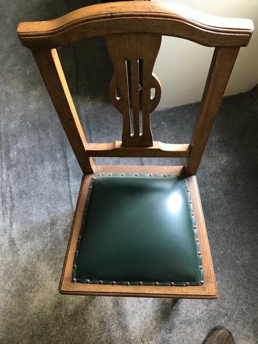 silla antigua.