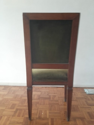 silla antigua estilo ingles