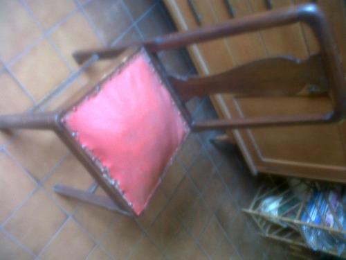 silla antigua tapizado original de la epoca