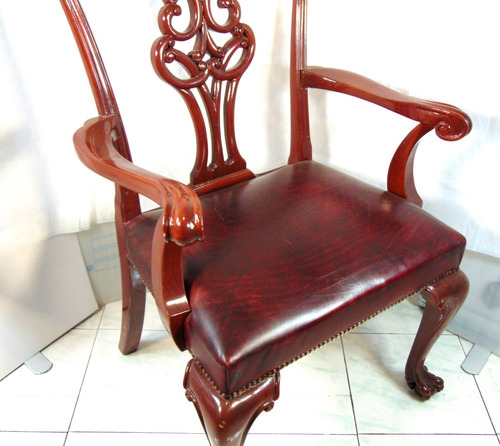 silla antigua vintage española imperial