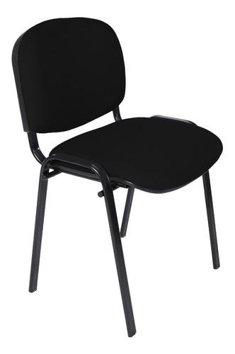 silla apilable fija tapizada oficina salas de espera consultorios reforzadas con garantia de fabrica gran stock