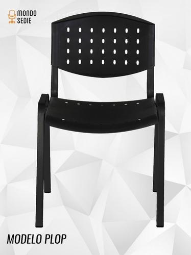 silla apilable sala de espera consultorio iglesia economica
