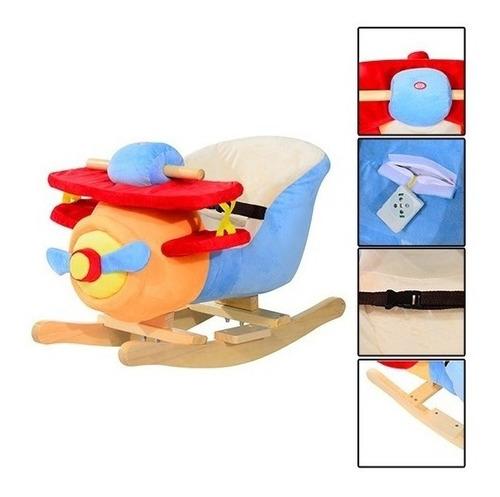 silla asiento mecedor de bebe musical acolchado c/sonido