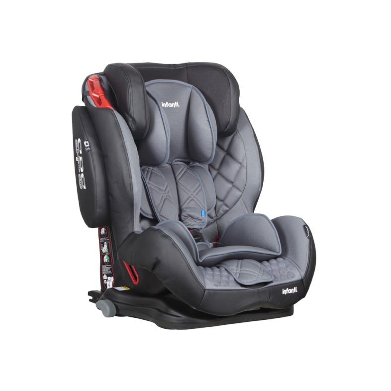 Silla auto butaca elite isofix mineral grey en for Silla auto bebe isofix