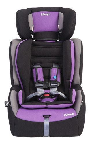 silla auto butaca grand prix journey purple infanti