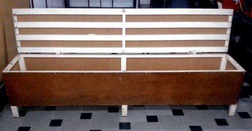 silla banca butaca tipo baúl