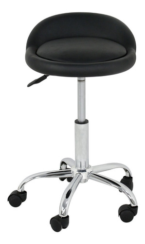 silla banco hidráulico respaldo giratorio, altura ajustable.