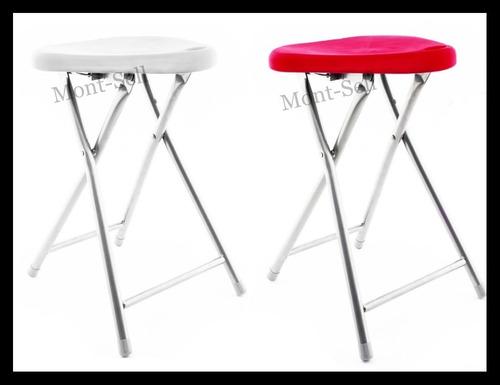 silla banqueta banquito banco taburete plegable caño