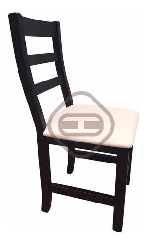 silla bar confiteria resto tapizada laqueado poliuretanico