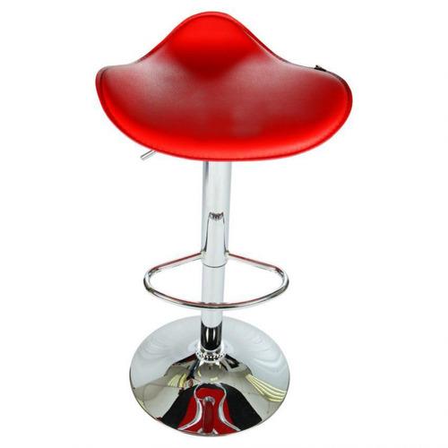 silla bar nela homex 8040-rojo