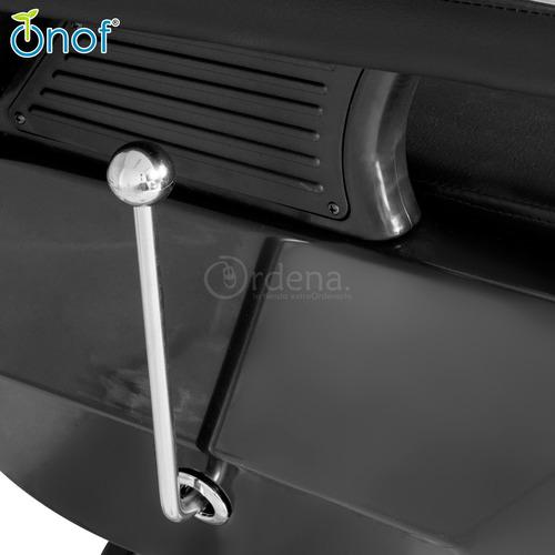 silla barberia sillon barbero estetica reclinable hidraulico