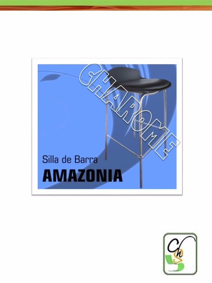 Silla Barra Amazonia Pantry Cocina Mesa Kitchen Mx Charome - Bs ...