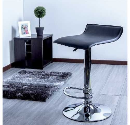 silla barra comedor discoteca alta aluminio colimportaciones