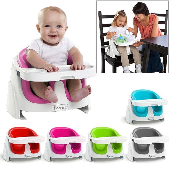 Silla Bebe Ingenuity Rosa Tipo Bumbo Booster Seat 2 En 1